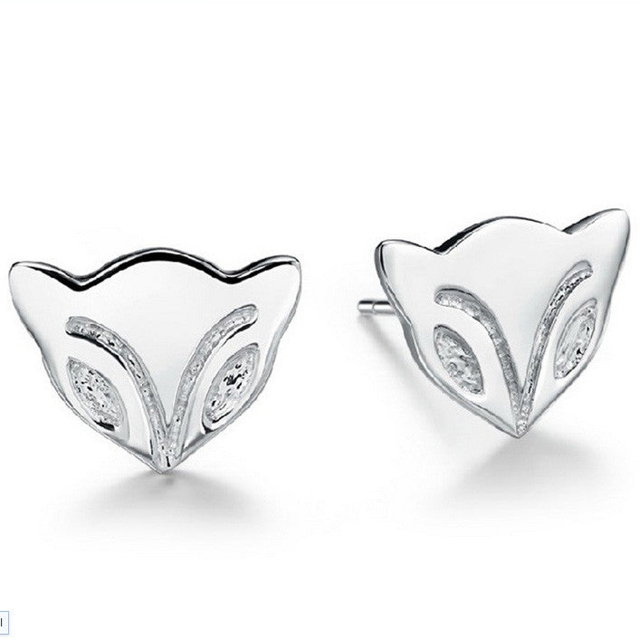 Foxy Studs Sterling Silver - Fierce Finds Mobile Boutique  - 2