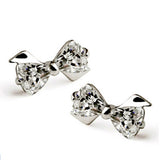 Crystal Bow Studs - Fierce Finds Mobile Boutique  - 2