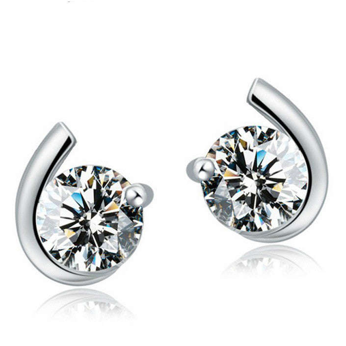 Simply Elegant Studs Sterling Silver - Fierce Finds Mobile Boutique  - 2