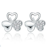 Clover Crystal Studs - Fierce Finds Mobile Boutique  - 2