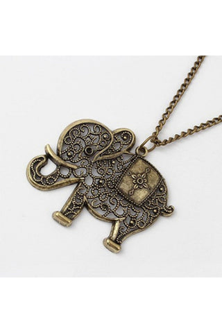 Elephant Long Necklace - Fierce Finds Mobile Boutique  - 1