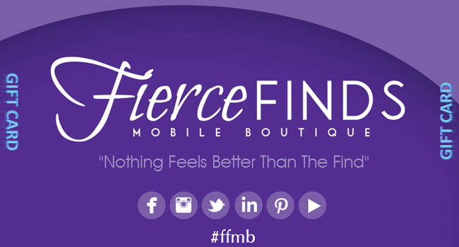 E-Gift Card - Fierce Finds Mobile Boutique  - 2
