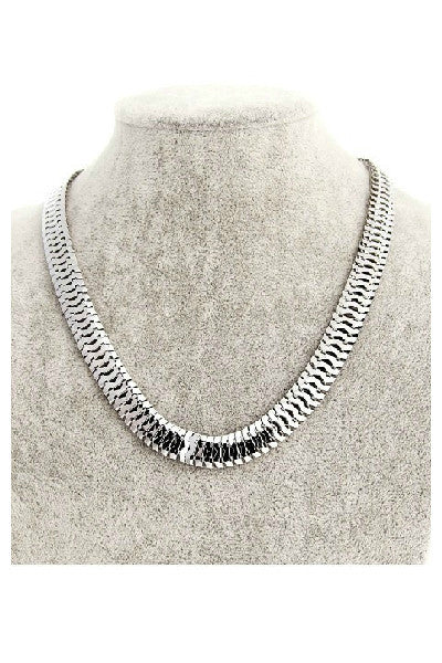 Herringbone Necklace - Fierce Finds Mobile Boutique  - 3