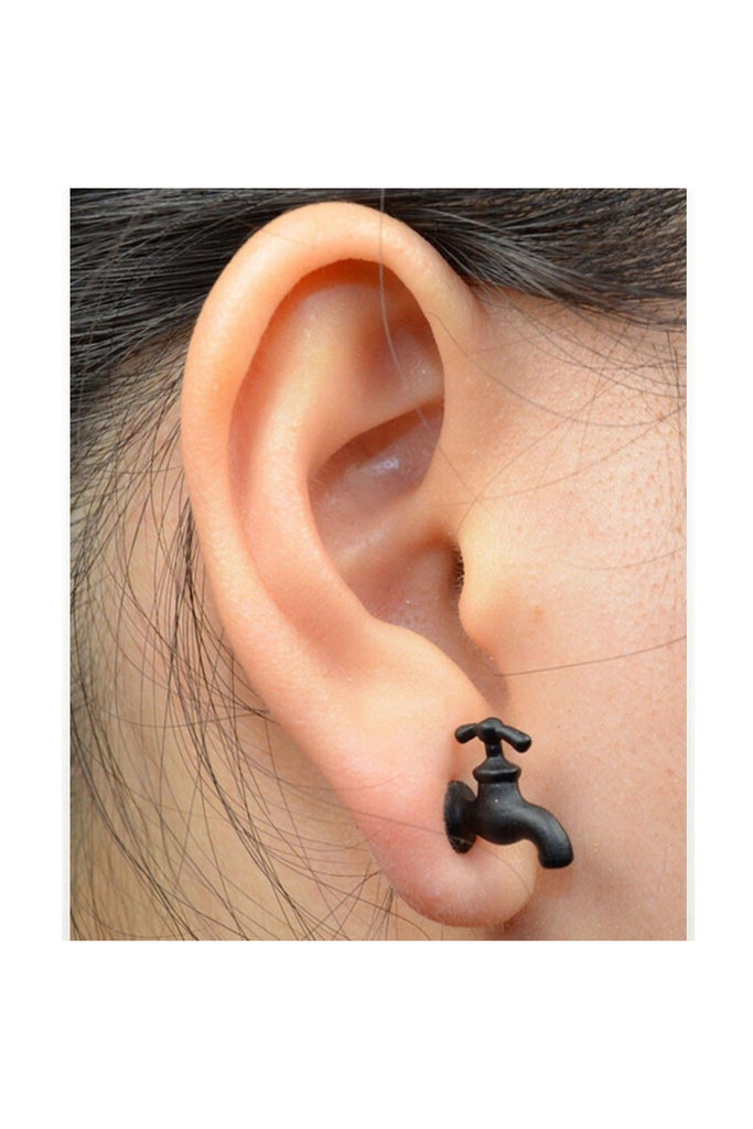 Faucet Stud Earrings - Fierce Finds Mobile Boutique  - 1