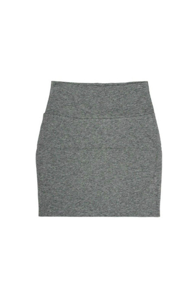 Gray Bodycon Mini Skirt - Fierce Finds Mobile Boutique  - 1