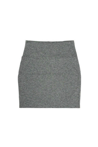 Gray Bodycon Mini Skirt-Women - Apparel - Skirts - Mini-Fierce Finds Mobile Boutique