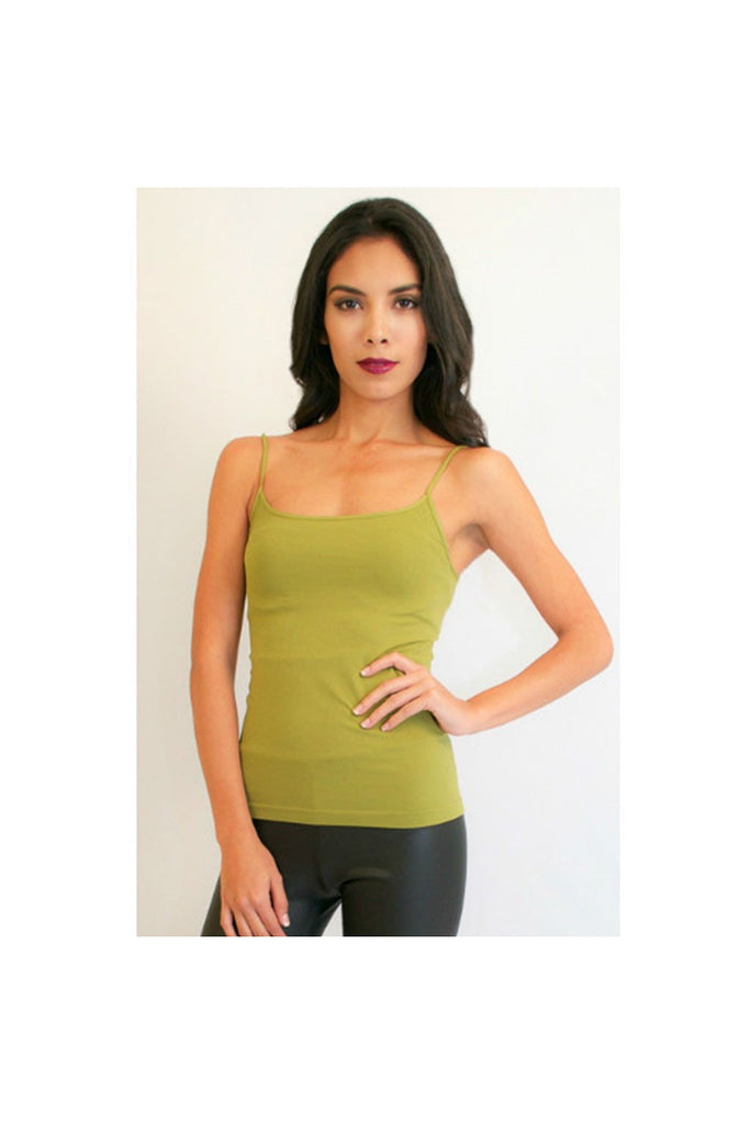 Green Cami Top-Women - Apparel - Shirts - Camis-Fierce Finds Mobile Boutique