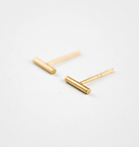 Bar Stud Earrings - Fierce Finds Mobile Boutique  - 7