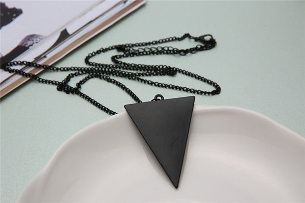 Triangle Long Chain - Fierce Finds Mobile Boutique  - 6