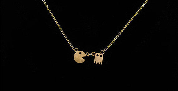 Pac Man Necklace - Fierce Finds Mobile Boutique  - 4