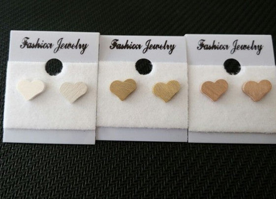 Tiny Heart Earrings  -Stainless Steel - Fierce Finds Mobile Boutique  - 4