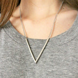 V Necklace - Fierce Finds Mobile Boutique  - 2