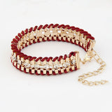 Hand Woven Rope Gold Bracelet - Fierce Finds Mobile Boutique  - 13