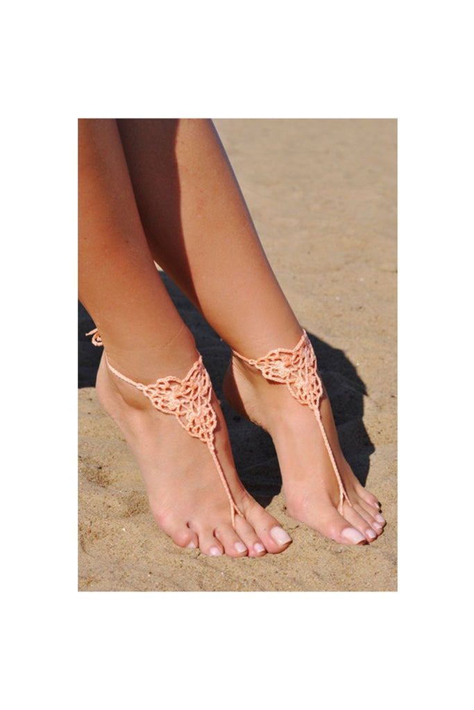 Handcrafted Barefoot Sandal - Fierce Finds Mobile Boutique  - 1