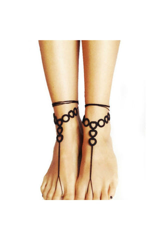 Handcrafted Barefoot Sandals-Accessories-Fierce Finds Mobile Boutique