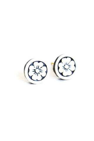Handcrafted Flower Studs - Fierce Finds Mobile Boutique  - 1