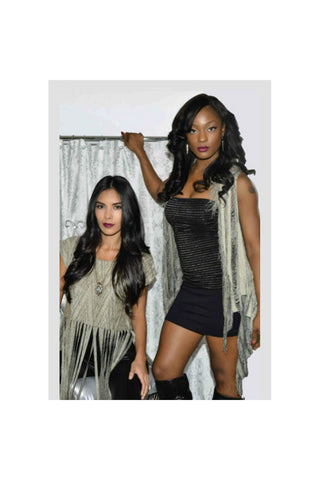 Handcrafted Long Fringe Vest - Fierce Finds Mobile Boutique  - 1