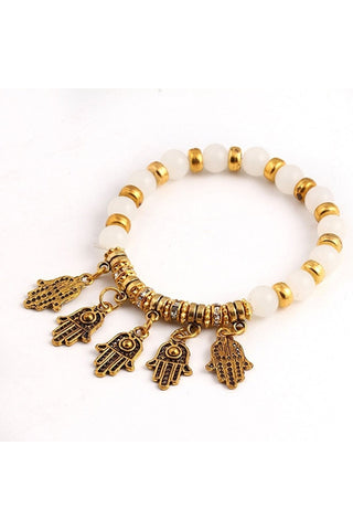 Hasma Charm Bracelet-Women - Jewelry - Bracelets-Fierce Finds Mobile Boutique