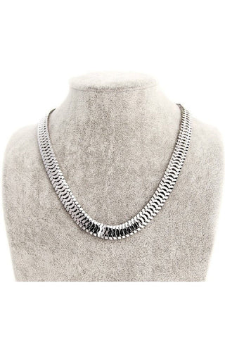 Herringbone Necklace-NECKLACE-Fierce Finds Mobile Boutique