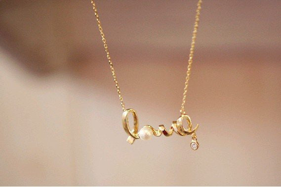 Dainty Love Necklace - Fierce Finds Mobile Boutique  - 5