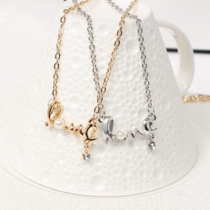 Dainty Love Necklace - Fierce Finds Mobile Boutique  - 2