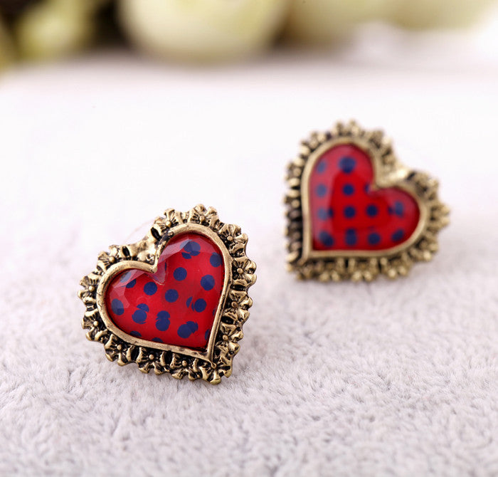 Polka Dot Hearts - Fierce Finds Mobile Boutique  - 9