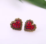 Polka Dot Hearts - Fierce Finds Mobile Boutique  - 2
