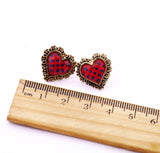 Polka Dot Hearts - Fierce Finds Mobile Boutique  - 4