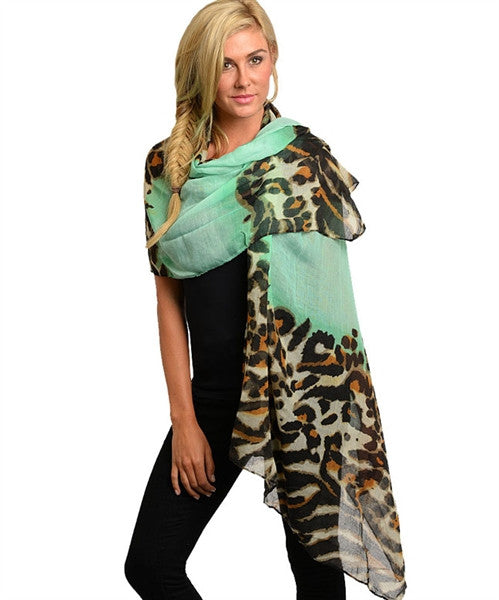 Leopard Printed Scarf - Fierce Finds Mobile Boutique  - 4