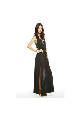Knotted Back Maxi Dress - Fierce Finds Mobile Boutique  - 1