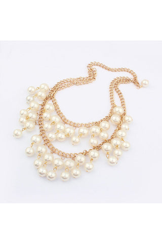 Layered Pearl Necklace - Fierce Finds Mobile Boutique  - 1