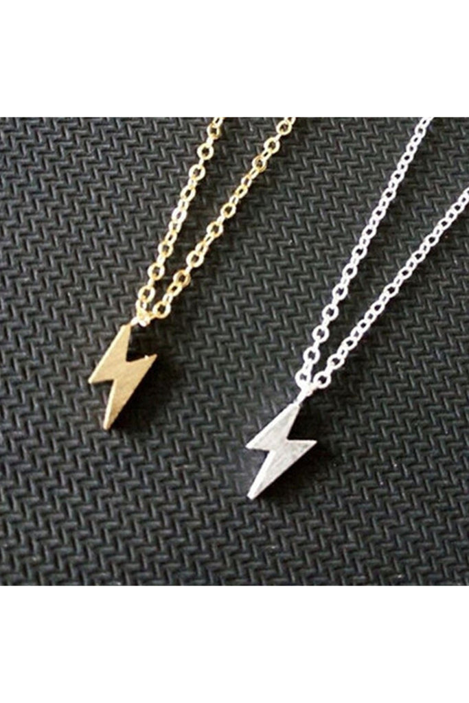 Lightening Necklace-NECKLACE-Fierce Finds Mobile Boutique