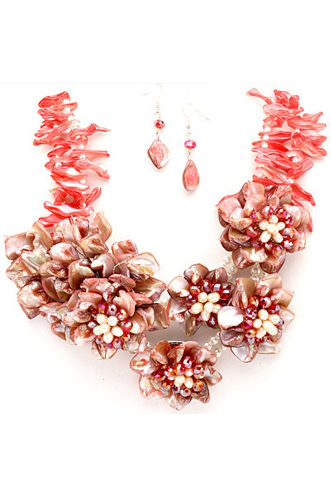 Lost Queen Statement Necklace Set - Fierce Finds Mobile Boutique  - 1