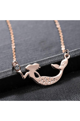 Mermaid Necklace - Fierce Finds Mobile Boutique  - 1