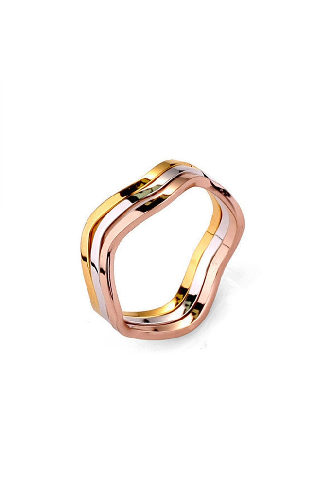 Multi Metal Stack Ring - Fierce Finds Mobile Boutique  - 1