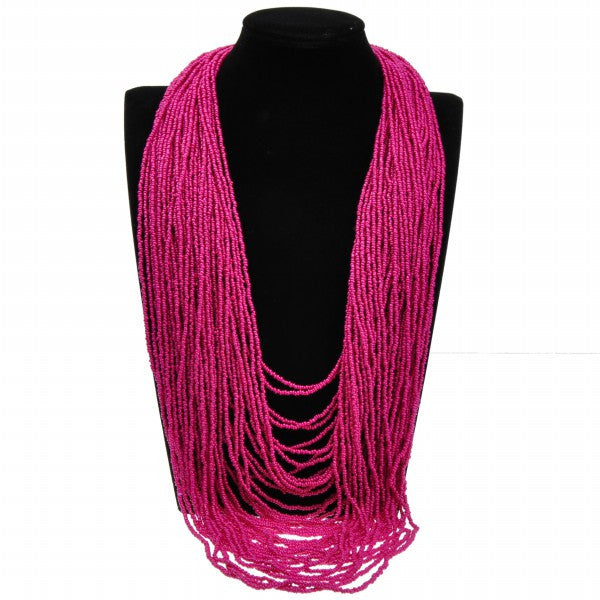 Colorful Multi-Strand Necklace - Fierce Finds Mobile Boutique  - 9