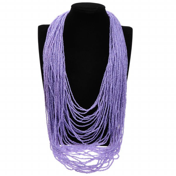 Colorful Multi-Strand Necklace - Fierce Finds Mobile Boutique  - 7