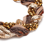 Braid Statement Necklace - Fierce Finds Mobile Boutique  - 4