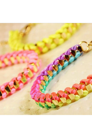 Neon Wrap Bracelet - Fierce Finds Mobile Boutique  - 1
