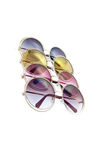 Oversized Retro Sunglassess - Fierce Finds Mobile Boutique  - 1