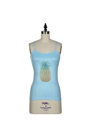 Pineapple Seamless Cami-Women - Apparel - Shirts - Camis-Fierce Finds Mobile Boutique