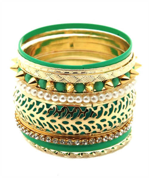 Stay Stacked Bangles-Accessories-Fierce Finds Mobile Boutique