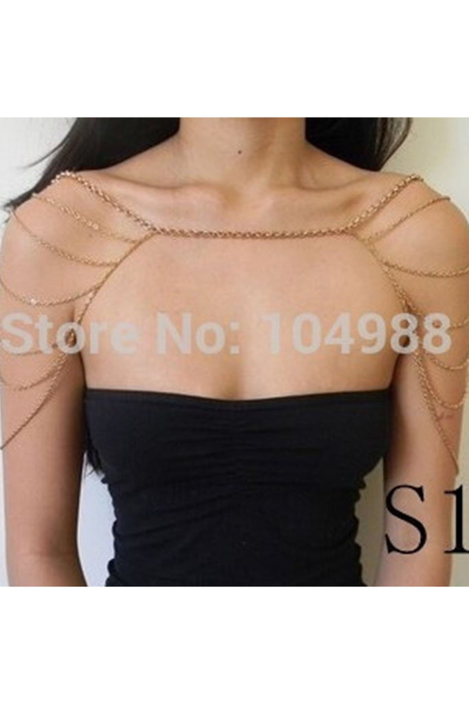 Shoulder Bodychain Shawl-BODY JEWELRY-Fierce Finds Mobile Boutique