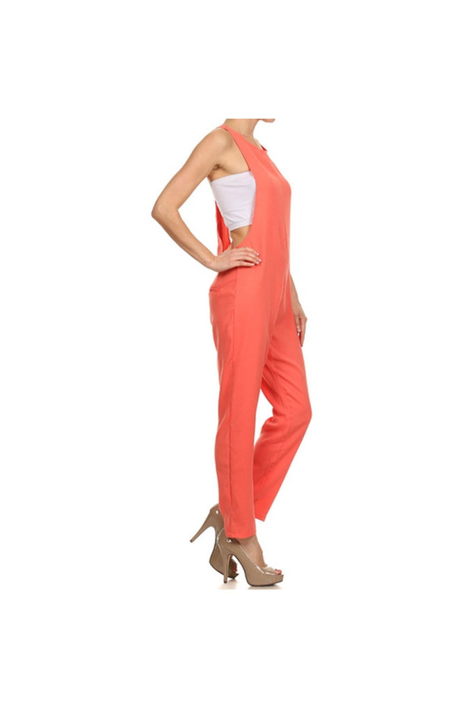 Side Sexy Jumpsuit - Fierce Finds Mobile Boutique  - 1