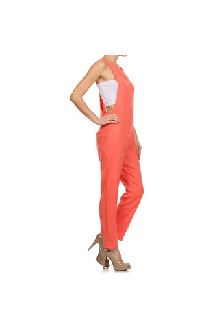 Side Sexy Jumpsuit-Women - Apparel - Other Apparel - Jumpsuits/Rompers-Fierce Finds Mobile Boutique