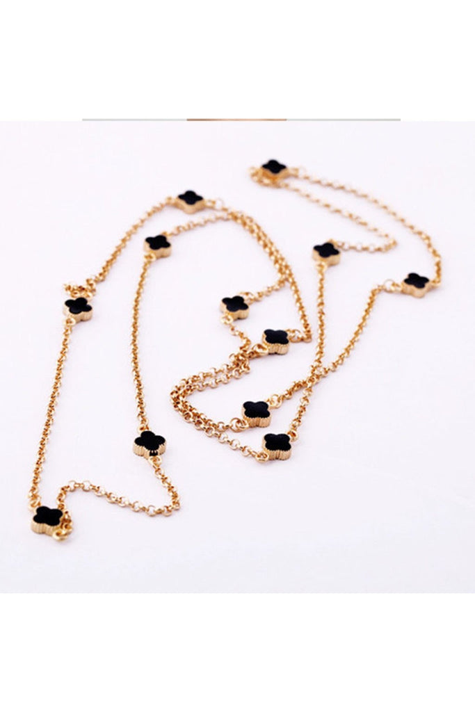 Small Clover Layered Necklace - Fierce Finds Mobile Boutique  - 1