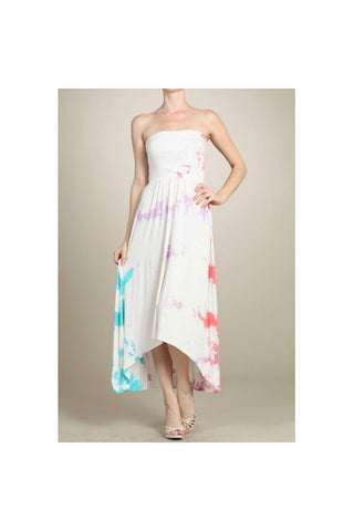 Soft Clouds 2-Way Maxi Dress - Fierce Finds Mobile Boutique  - 1