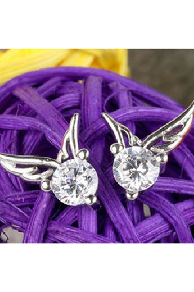 Sophisticated Wing Stud Earrings - Fierce Finds Mobile Boutique  - 1