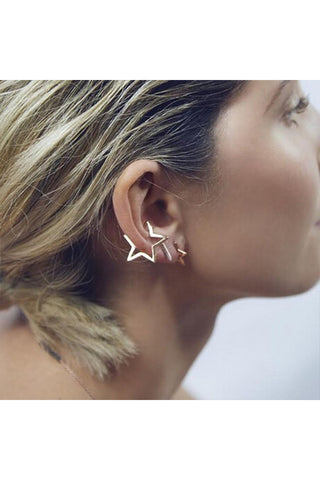 Star Ear Cuff-EARRINGS-Fierce Finds Mobile Boutique