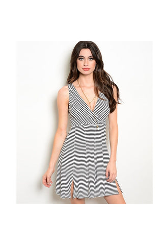 Stripe Day Dress - Fierce Finds Mobile Boutique  - 1
